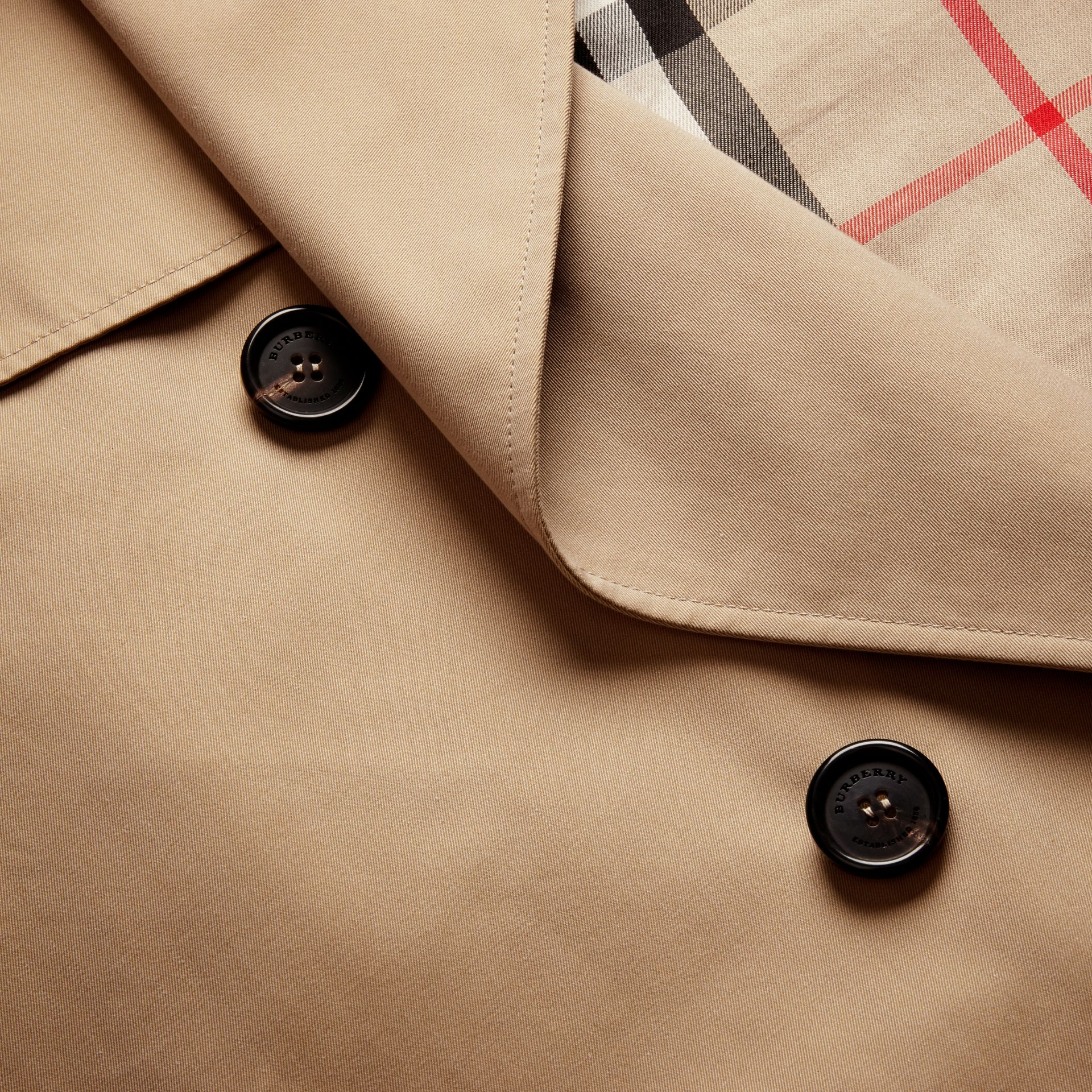 Deconstructed Cotton Gabardine Heritage Trench Coat - gallery image 2
