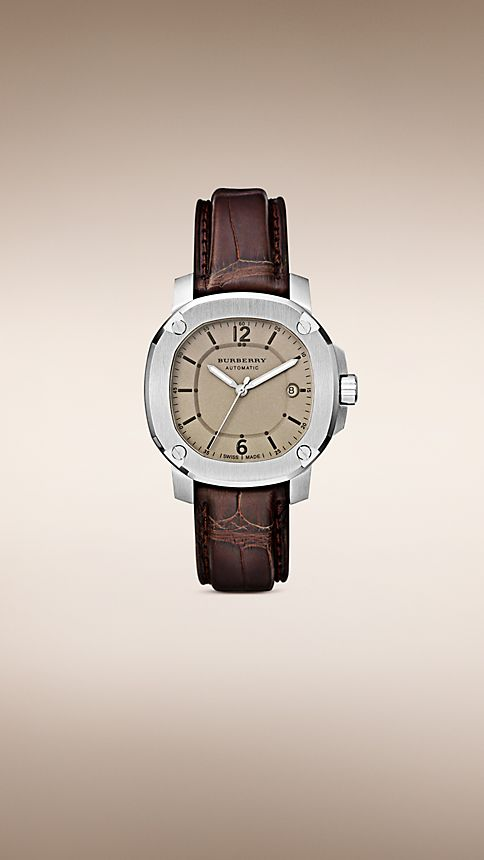 Brown The Britain BBY1201 43mm Automatic - Image 1