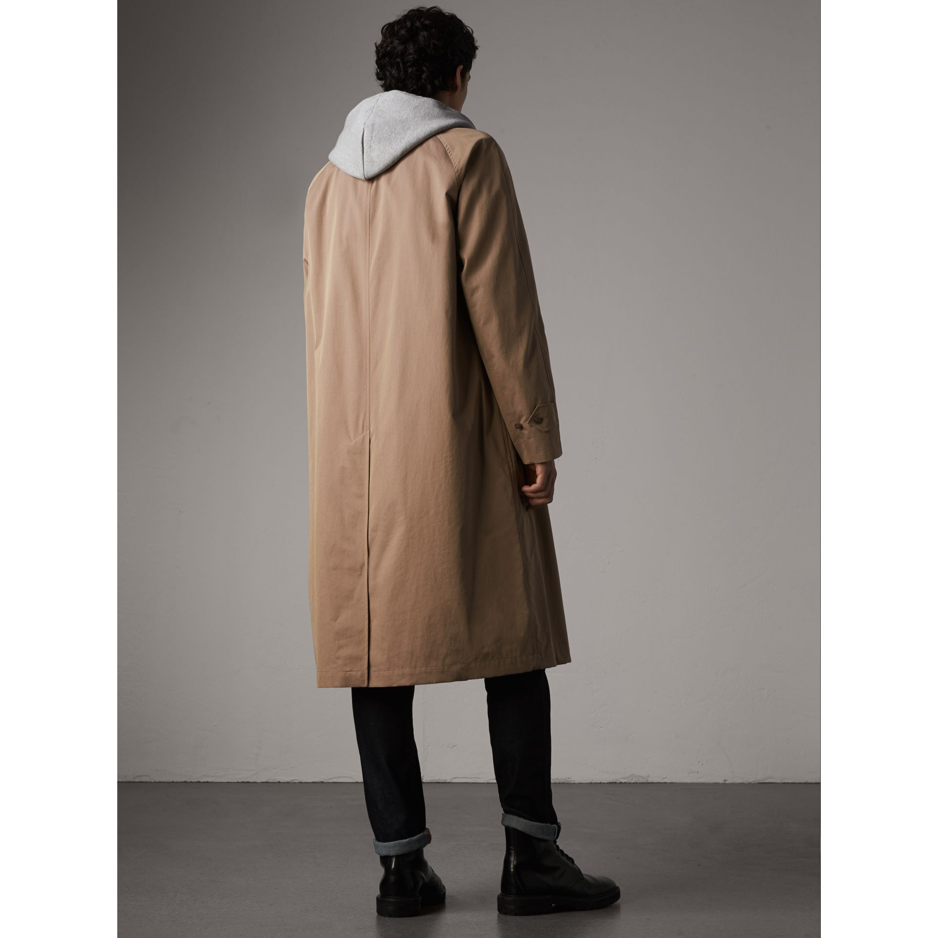The Brighton Car Coat in Taupe Brown - Men | Burberry - gallery image 2