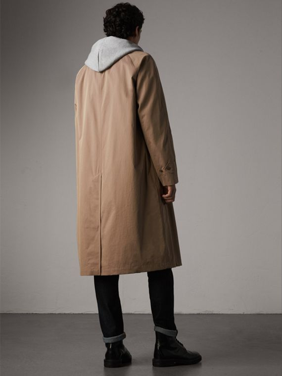 The Brighton Car Coat in Taupe Brown - Men | Burberry - cell image 2