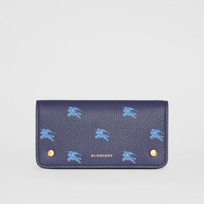 Ekd Leather Phone Wallet in Regency Blue