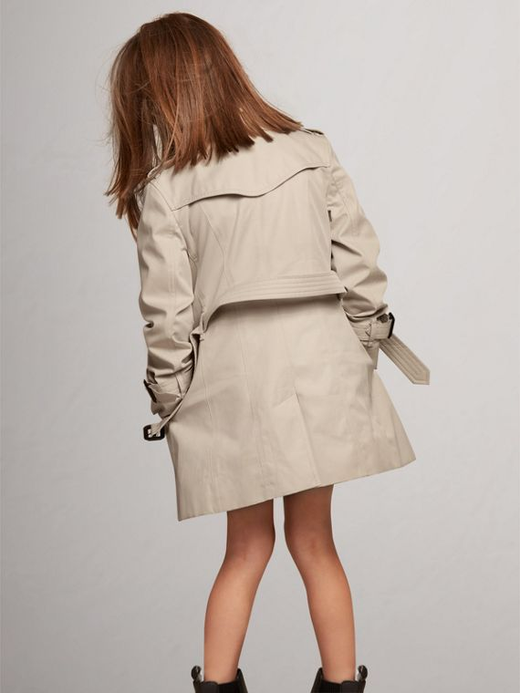 The Sandringham – Heritage Trench Coat in Stone - Girl | Burberry United States - cell image 3