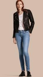 Skinny Low-Rise Vintage Wash Jeans