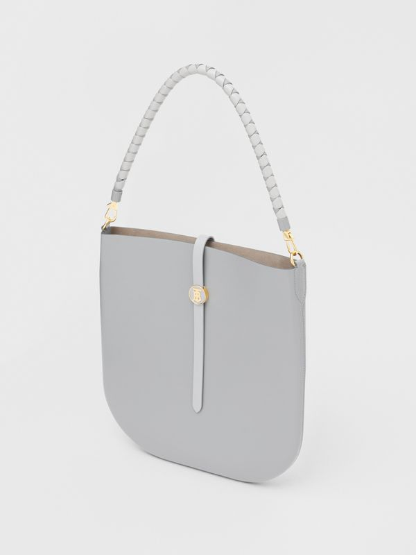 Leather Anne Bag in Cloud Grey - Women | Burberry - cell image 3