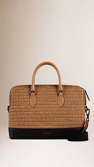 Tasche The Barrow aus Raffia