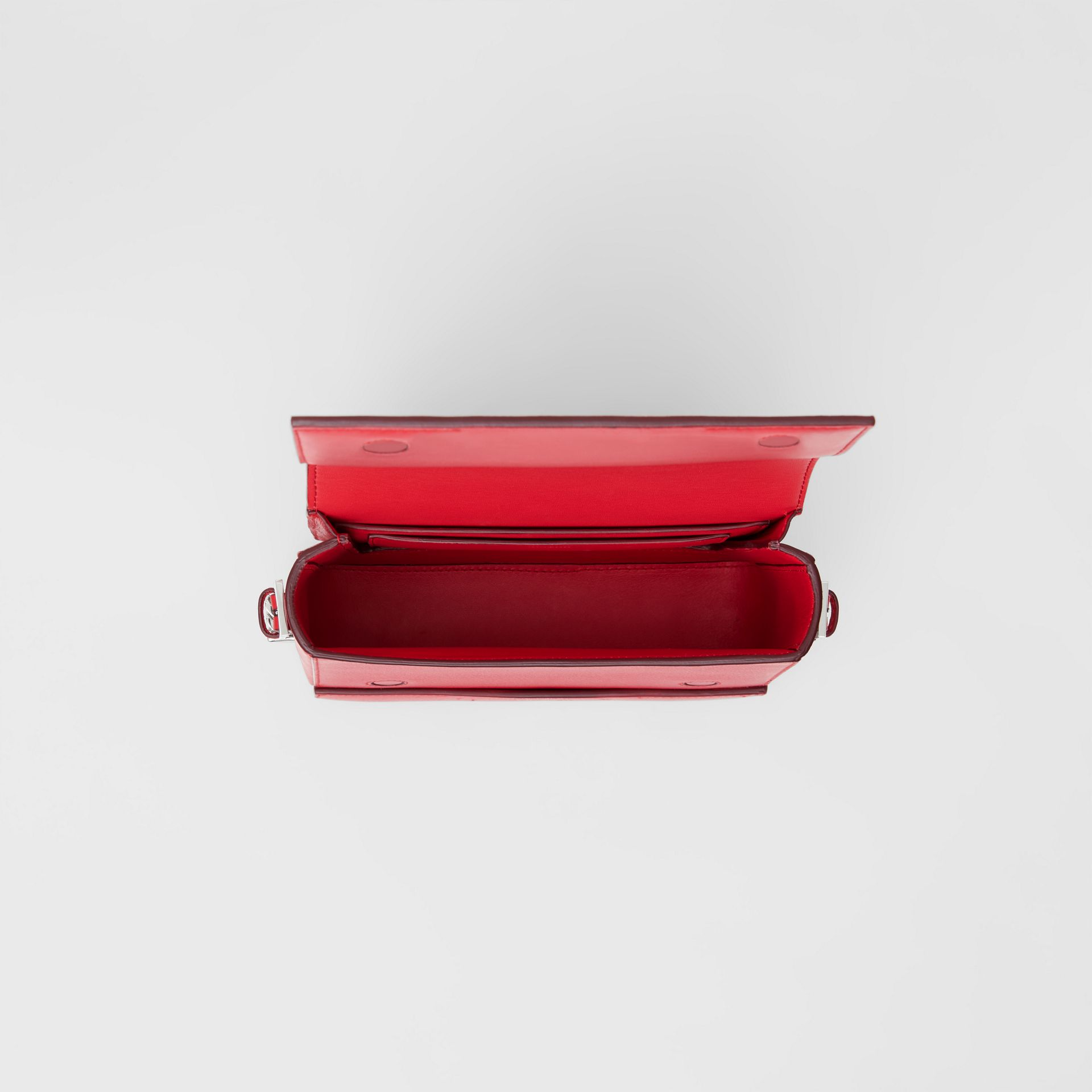 Small Leather Grace Bag in Bright Military Red - Women | Burberry - gallery image 4