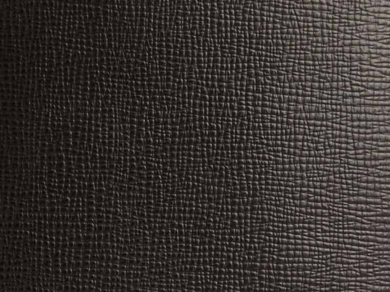 Black London Leather Passport Cover Black - cell image 1