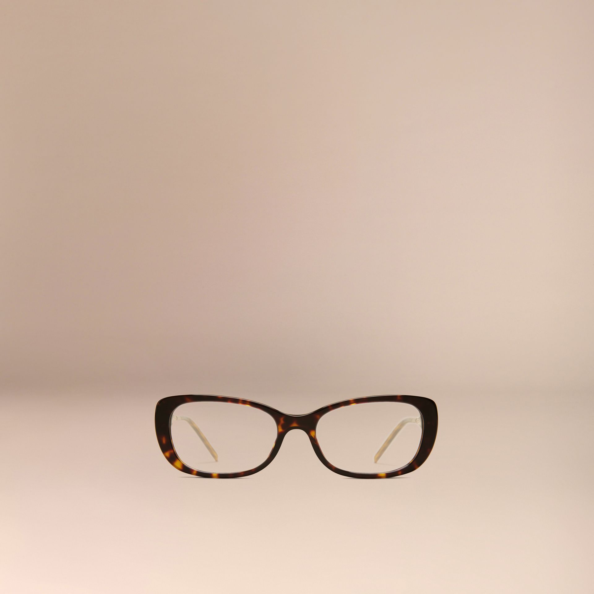 Tortoise shell Gabardine Collection Oval Optical Frames Tortoise Shell - gallery image 3