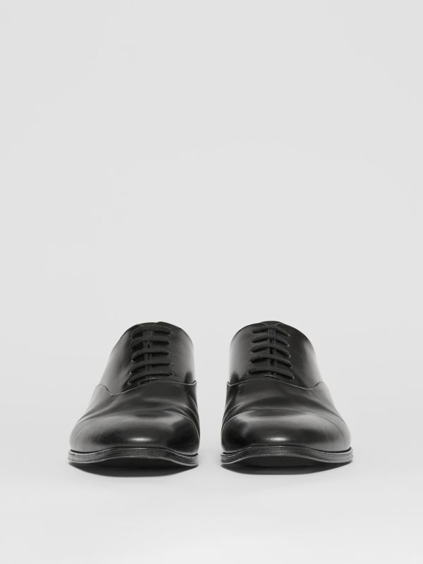 Leather Oxford Shoes in Black - Men | Burberry United Kingdom - cell image 2