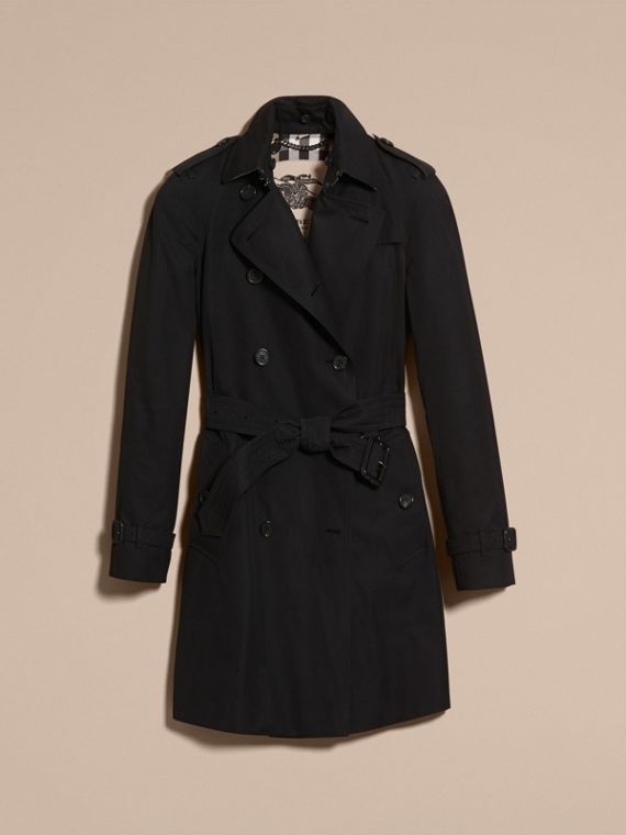 Black The Westminster – Mid-Length Heritage Trench Coat Black - cell image 3
