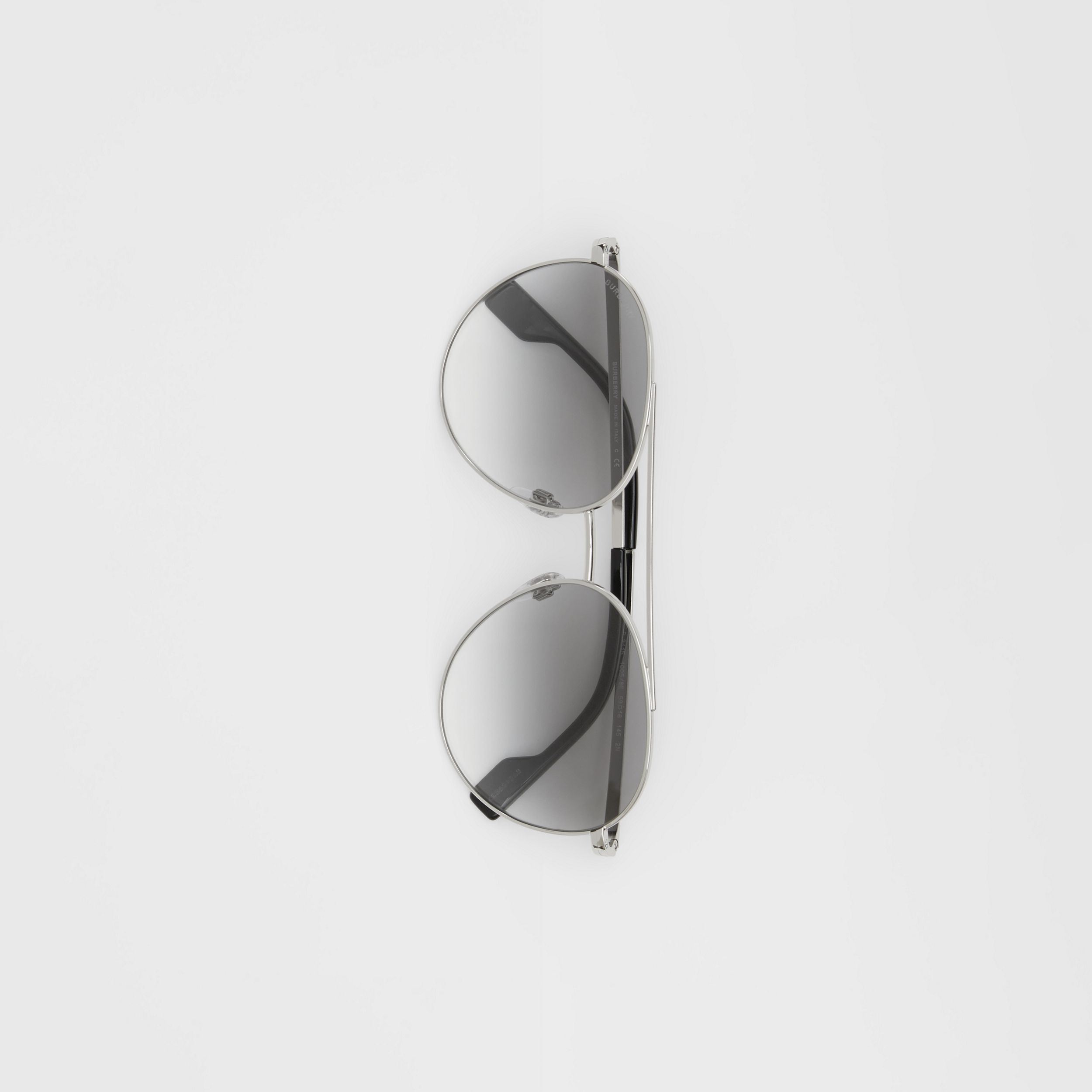Pilot Sunglasses in Grey - Women | Burberry Australia - 4