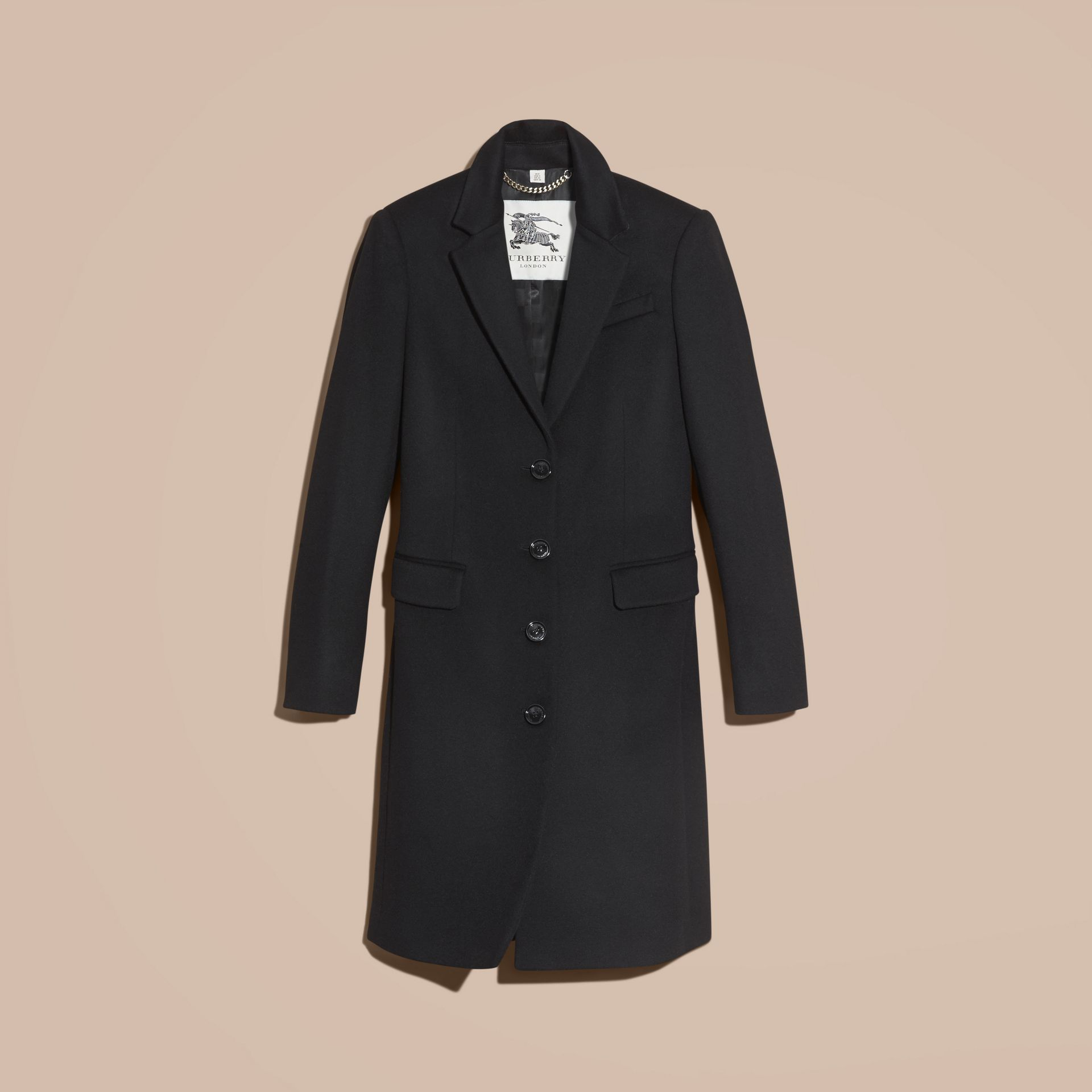 Tailored Wool Cashmere Coat - gallery image 4
