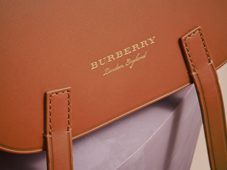 The Bridle Bag in Leather and Haymarket Check - Women | Burberry - cell image 1