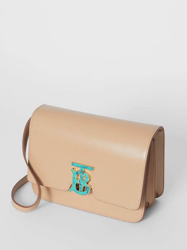 Small Leather TB Bag in Honey - Women | Burberry - cell image 3
