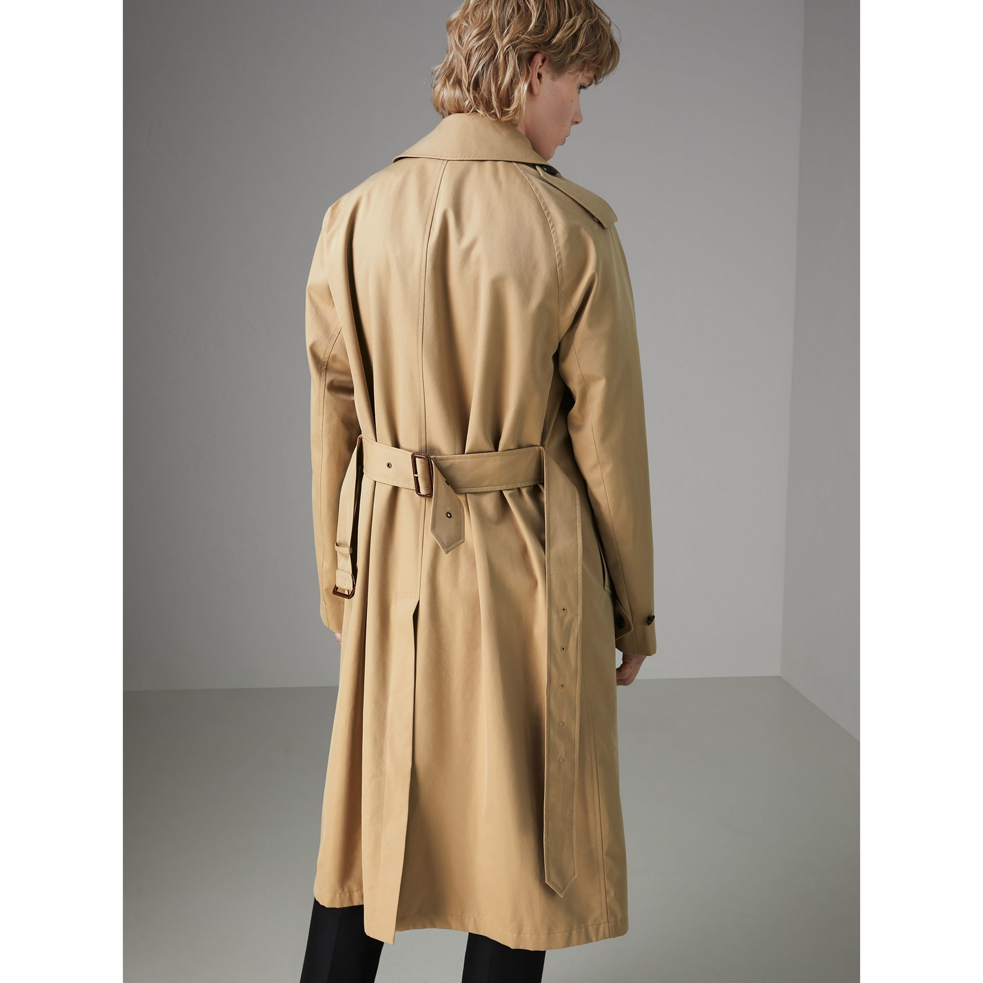 Gosha x Burberry Reconstructed Trench Coat in Honey | Burberry Singapore - gallery image 8