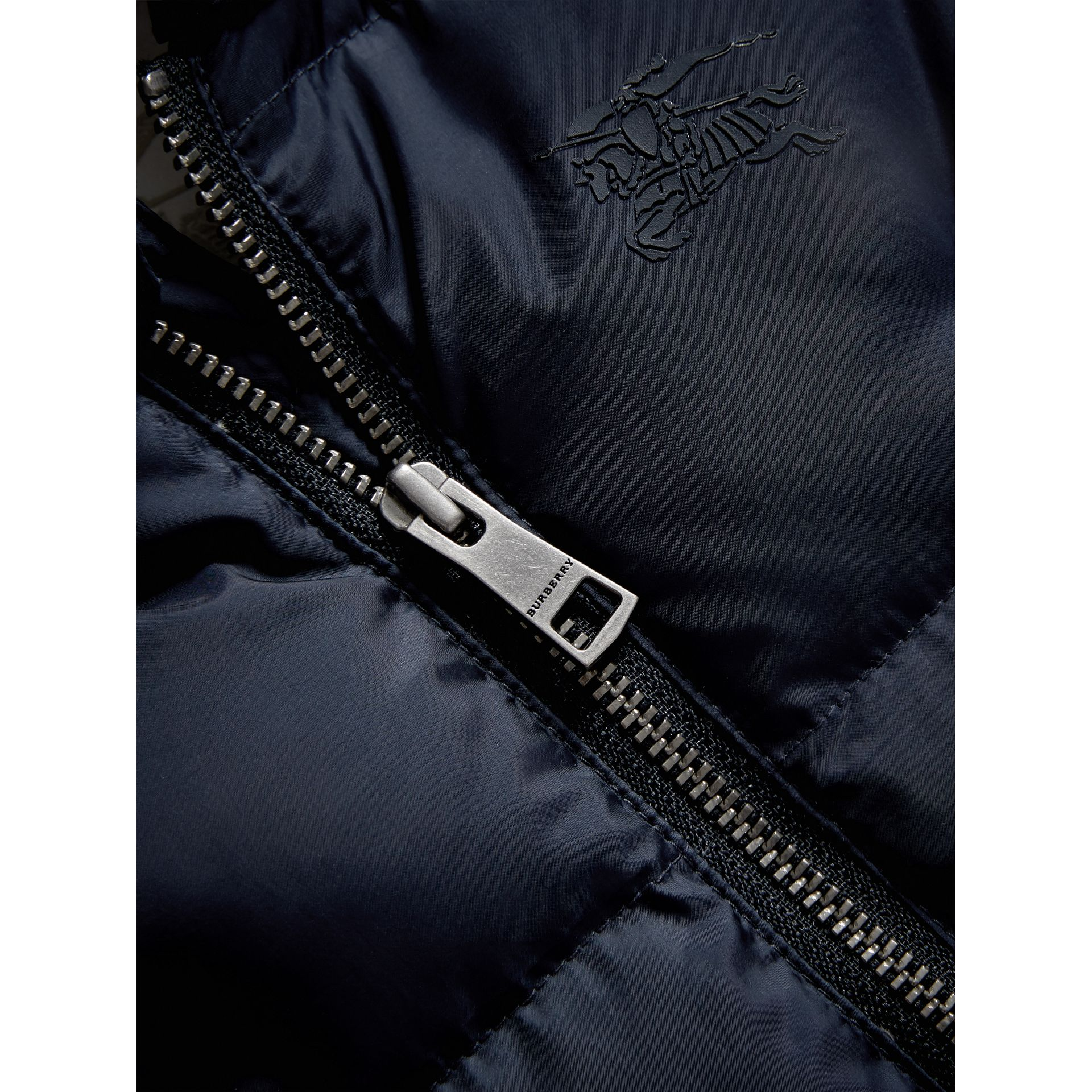 Down-filled Puffer Suit in Navy | Burberry - gallery image 1