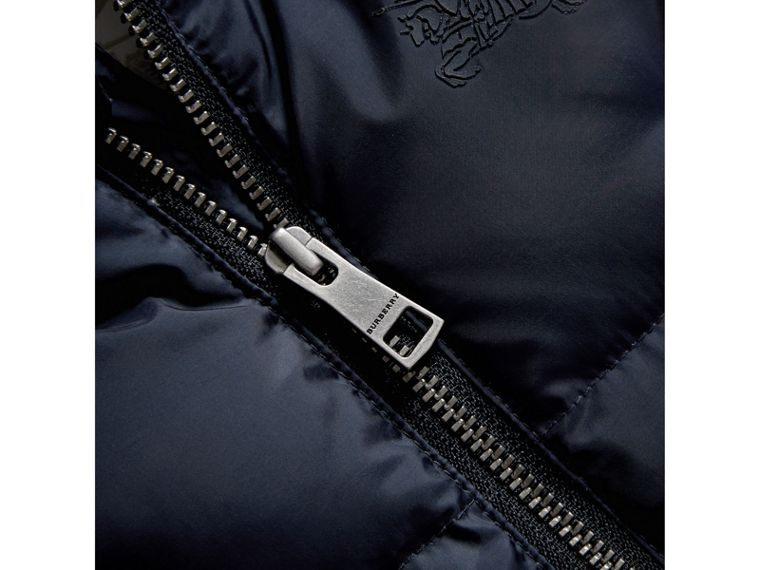 Down-filled Puffer Suit in Navy | Burberry - cell image 1
