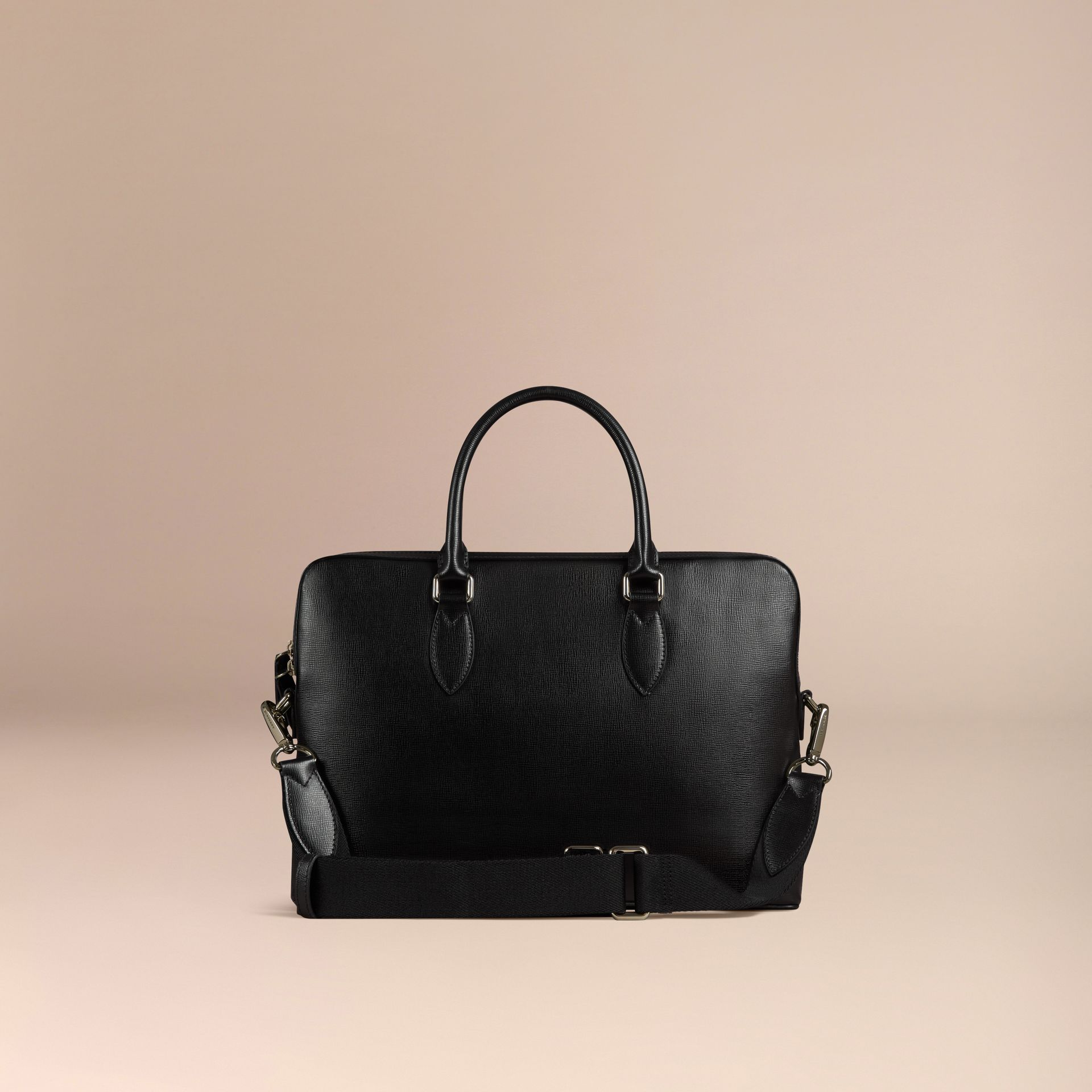 The Slim Barrow in London Leather Black - gallery image 3