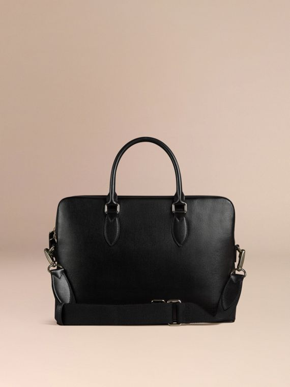 The Slim Barrow in London Leather in Black - cell image 2