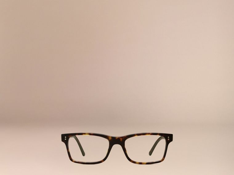 Brown Rectangular Optical Frames Brown - cell image 1