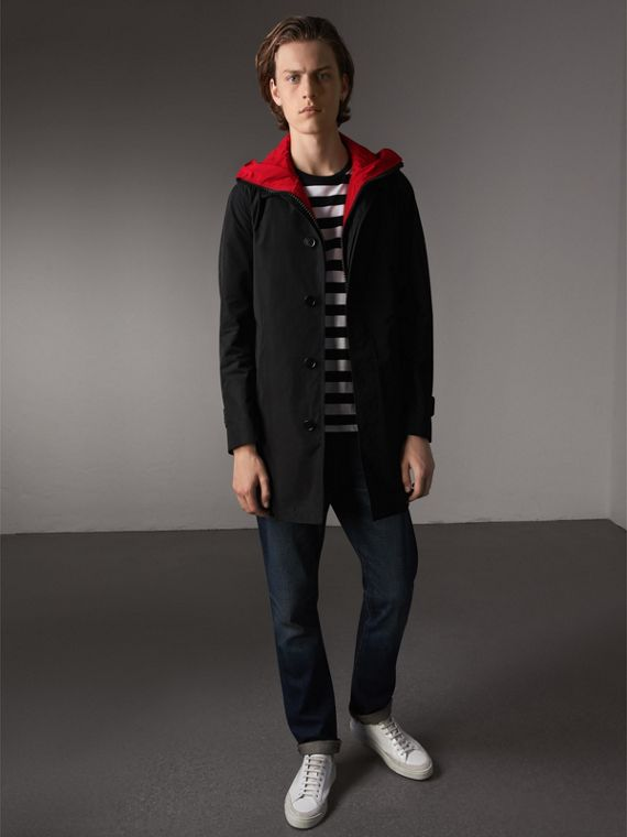 Shape-memory Car Coat with Detachable Sports Gilet - Men | Burberry