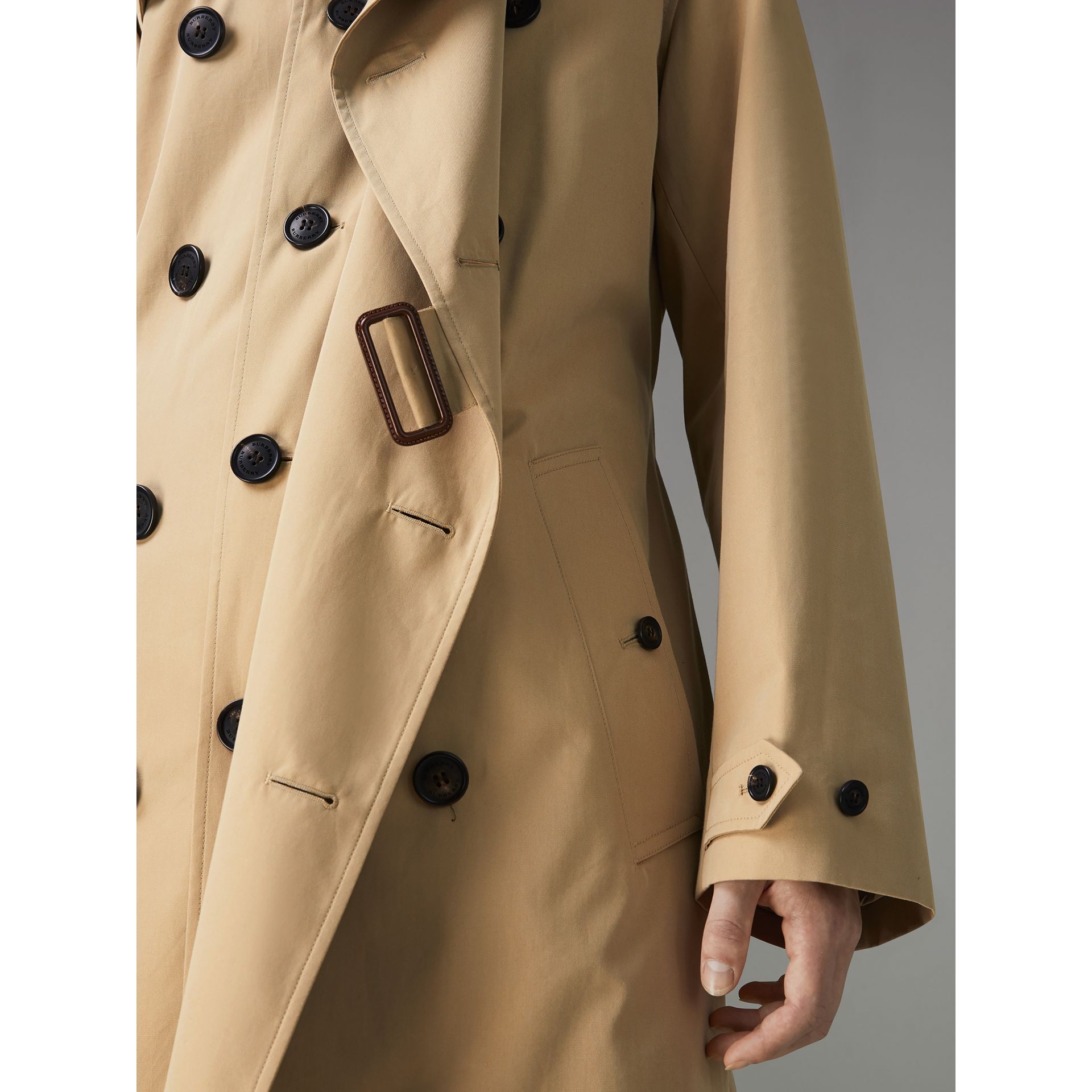 Gosha x Burberry Reconstructed Trench Coat in Honey | Burberry - gallery image 5