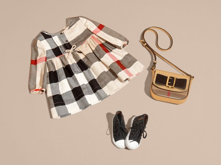 New classic womens Check Cotton Flannel Dress with Bow Detail New Classic Womens - cell image 4