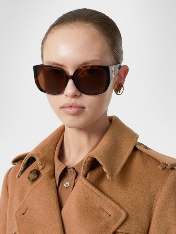 Cashmere Trench Coat in Bronze - Women | Burberry United Kingdom - cell image 1