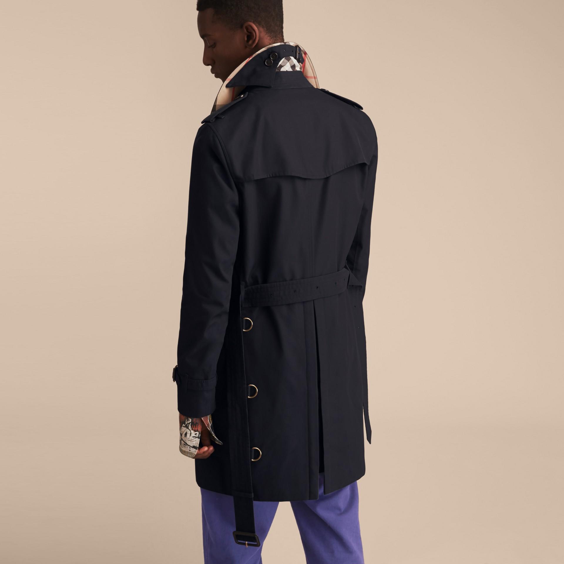 Azul marinho The Sandringham - Trench coat Heritage longo Azul Marinho - galeria de imagens 4