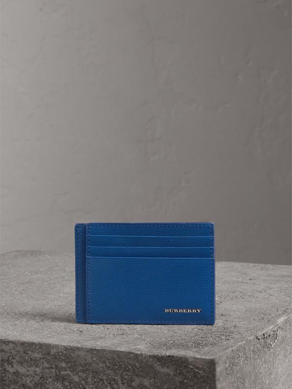 Porte-cartes en cuir London (Bleu Profond) | Burberry - cell image 3