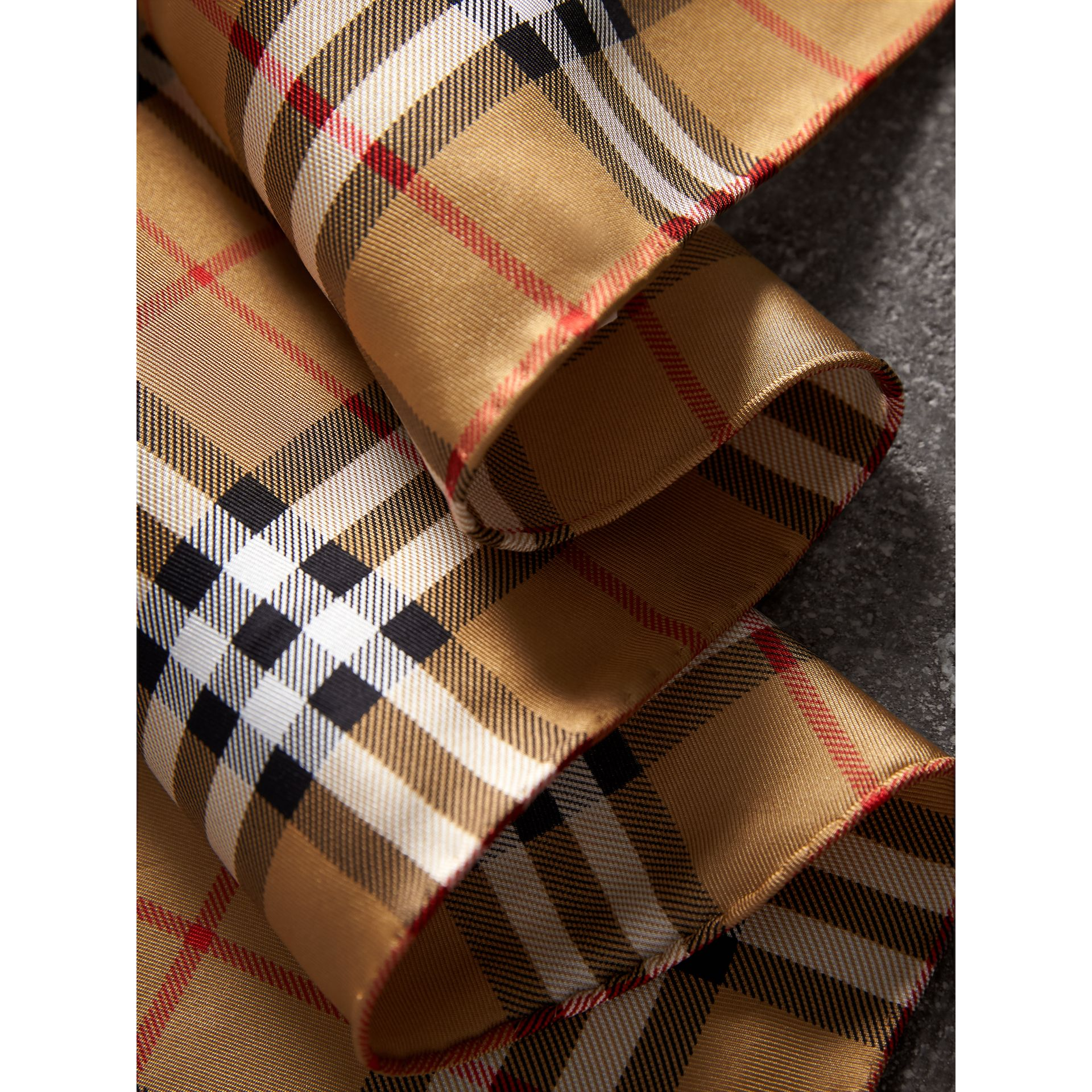 The Burberry Bandana in Vintage Check Silk | Burberry - gallery image 1