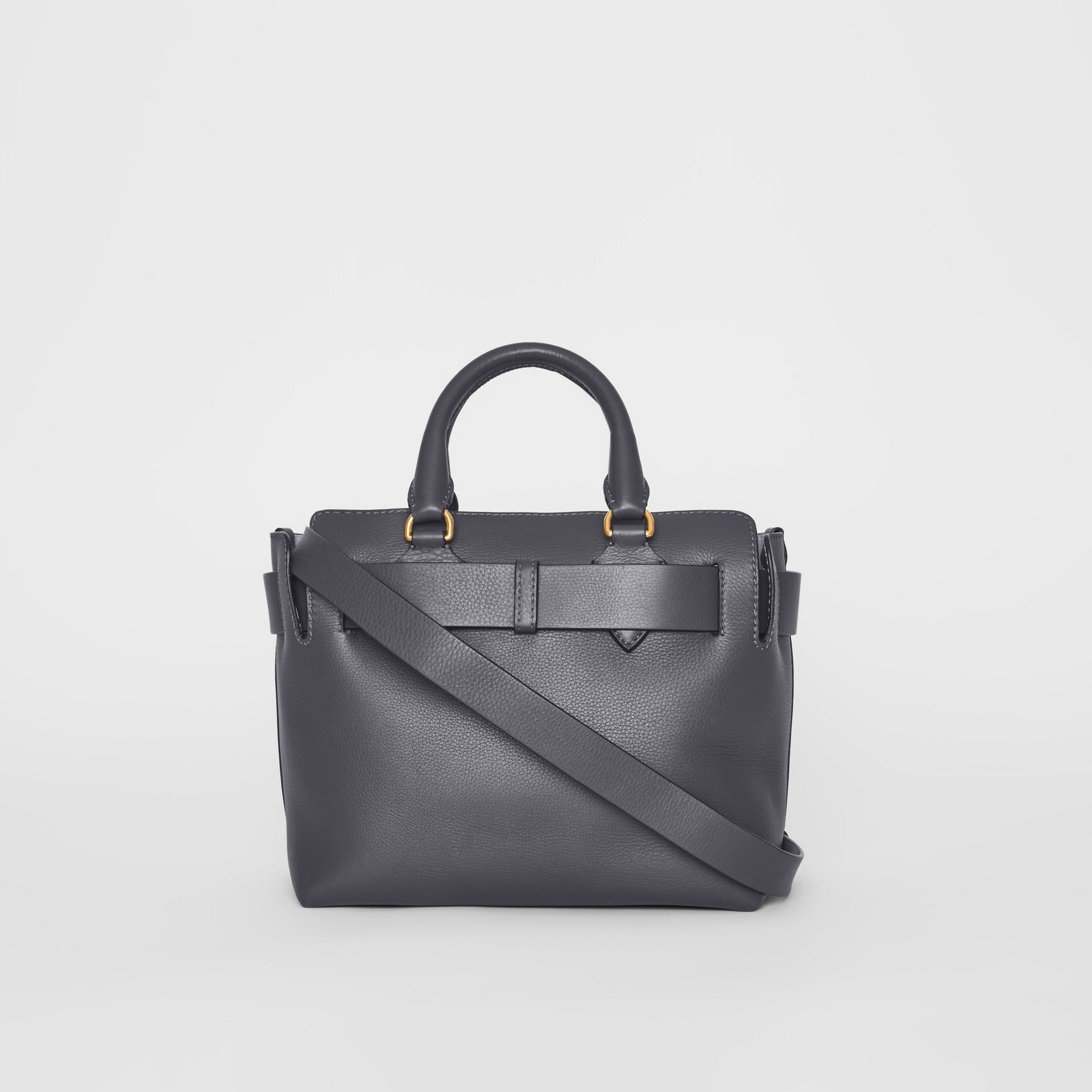 Petit sac The Belt en cuir (Gris Anthracite) - Femme | Burberry - photo de la galerie 6
