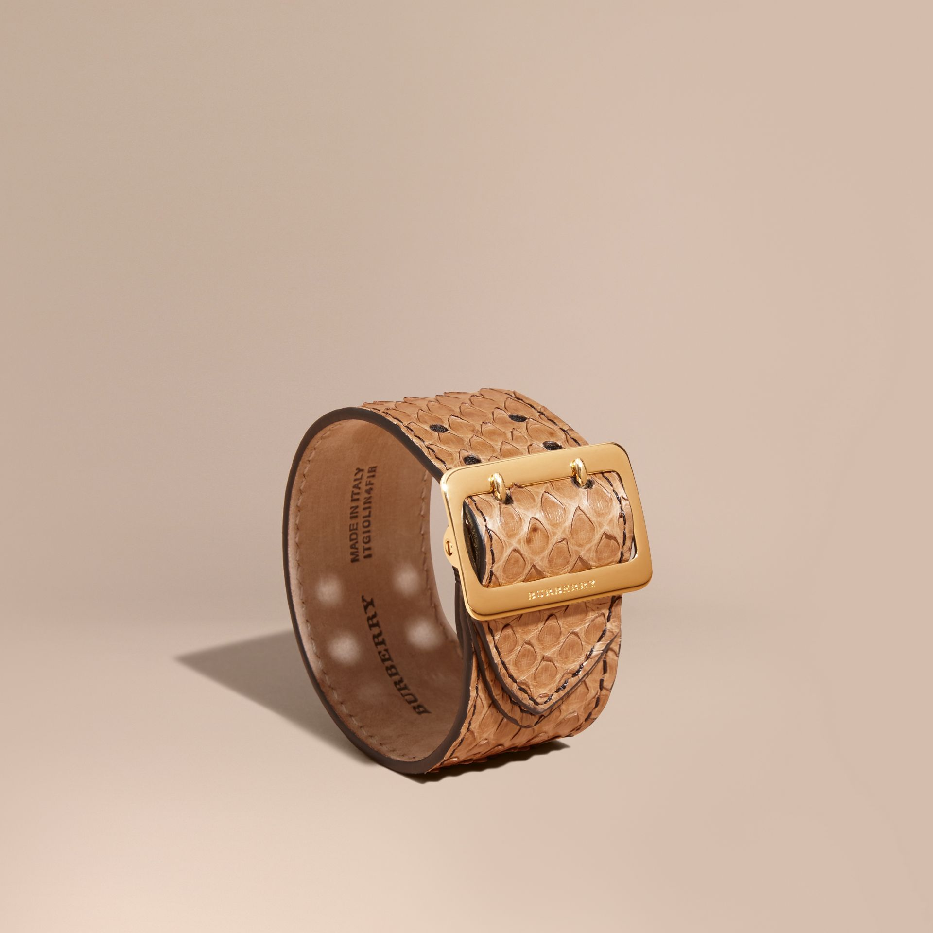 Python Cuff in Camel - Women | Burberry - gallery image 1