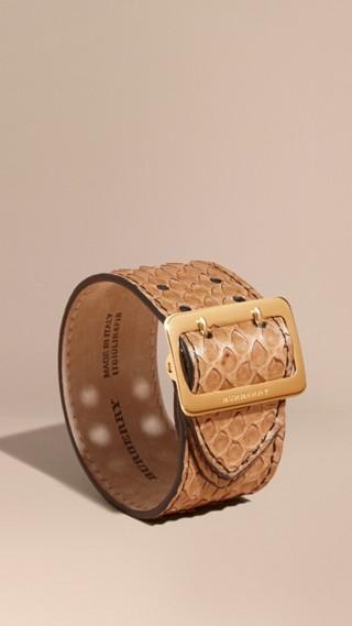 Armband aus Pythonleder