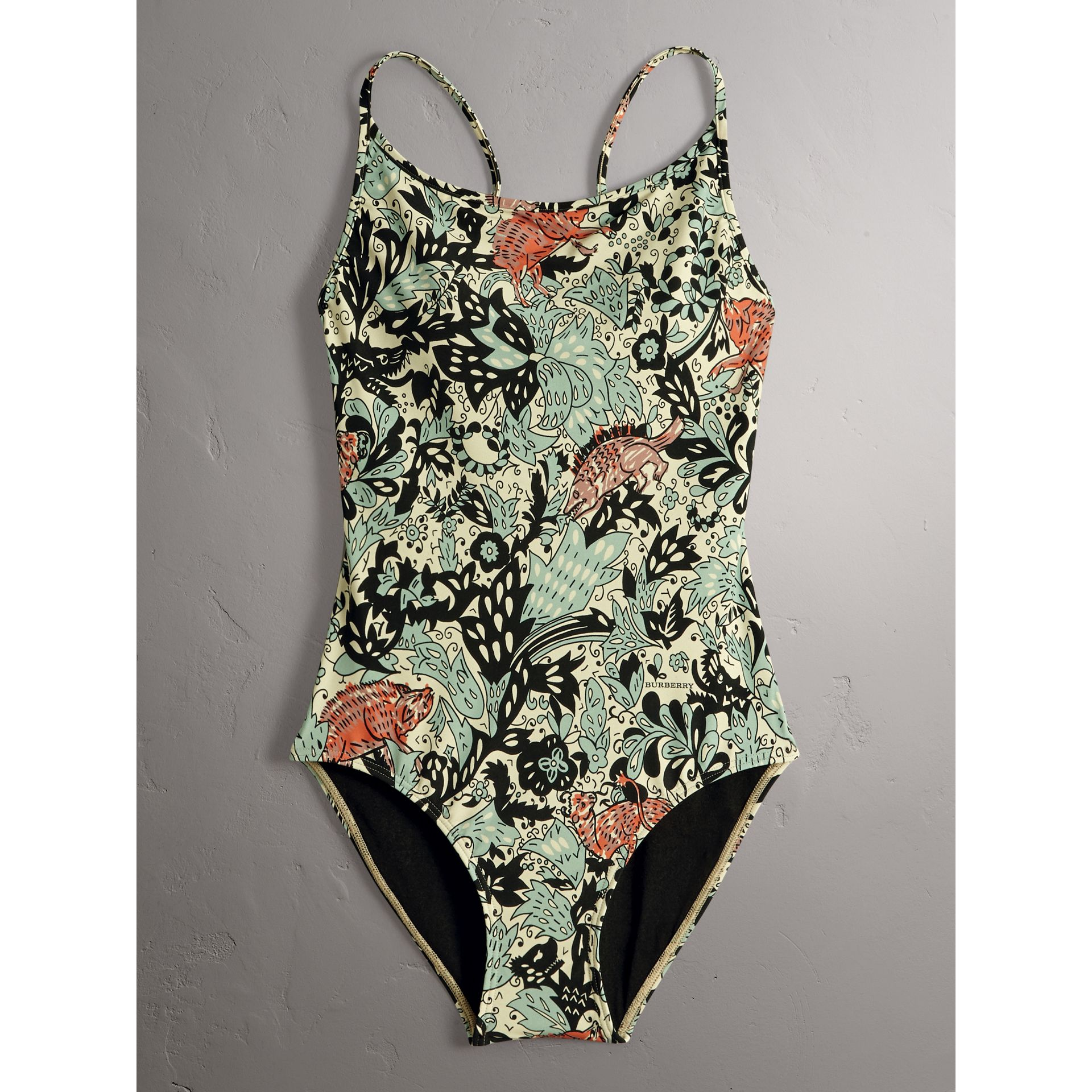 Beasts Print Swimsuit - Women | Burberry - gallery image 1