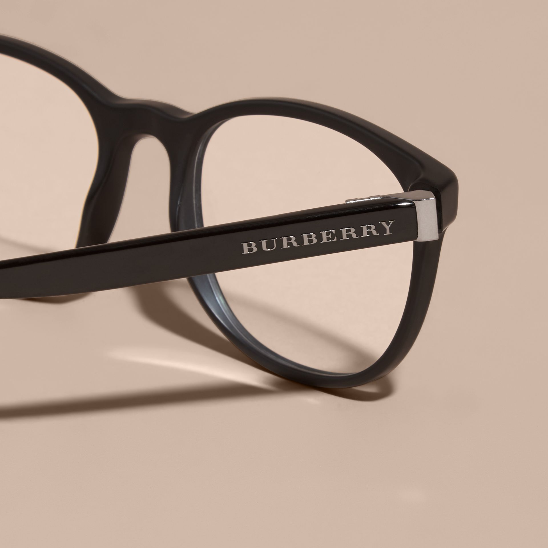 Square Optical Frames Black - gallery image 2