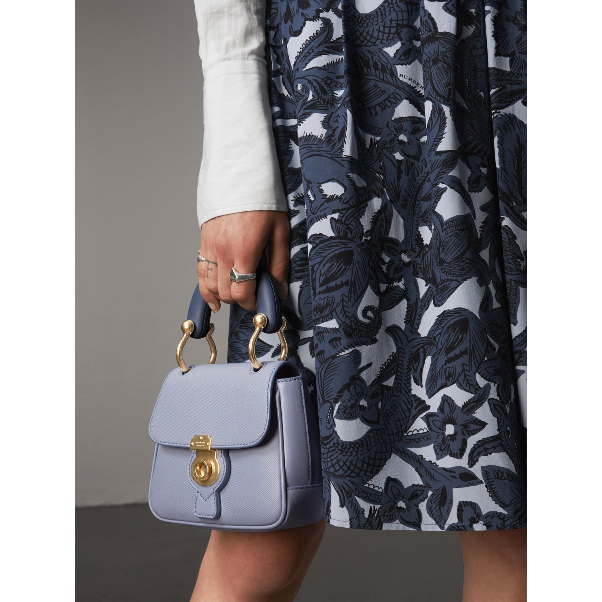 The Mini DK88 Top Handle Bag in Slate Blue - Women | Burberry - gallery image 4