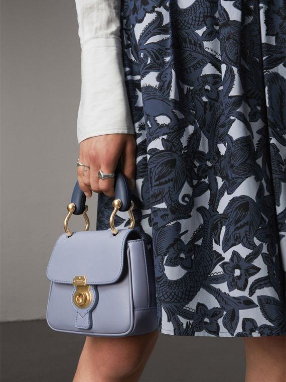 The Mini DK88 Top Handle Bag in Slate Blue - Women | Burberry - cell image 3