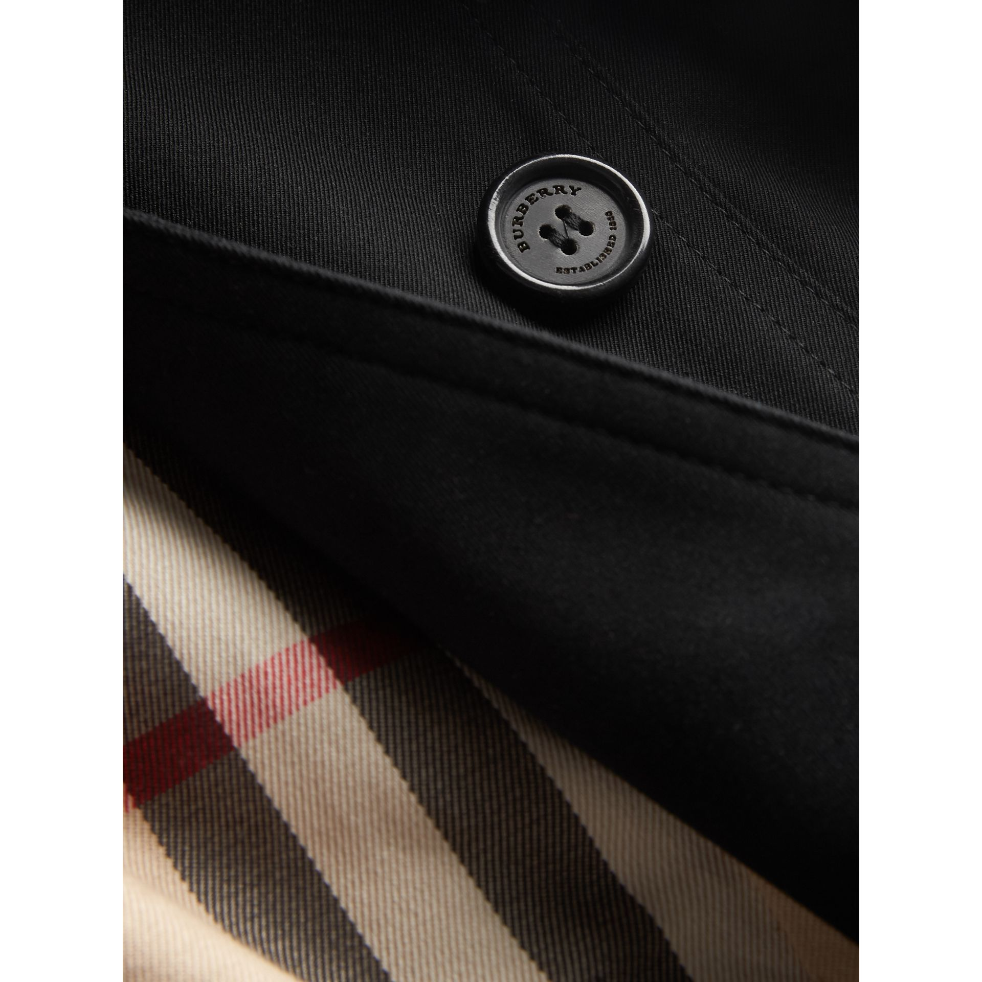 Trench coat The Sandringham (Nero) | Burberry - immagine della galleria 1
