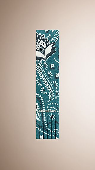 Book Cover Print Leather Bookmark