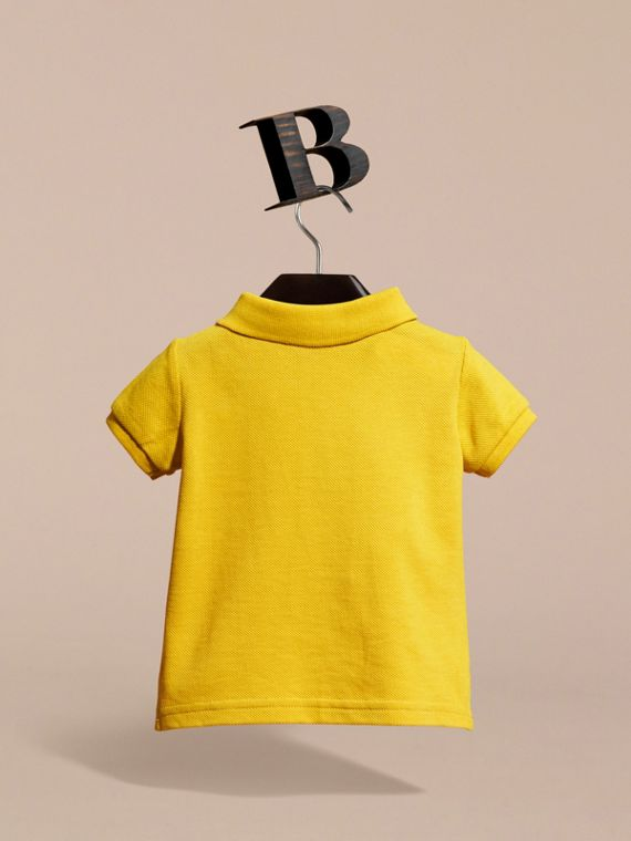 Check Placket Polo Shirt | Burberry - cell image 3