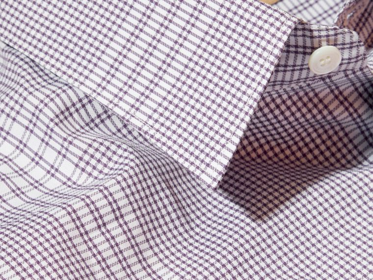 Heather Check Cotton Shirt Heather - cell image 1