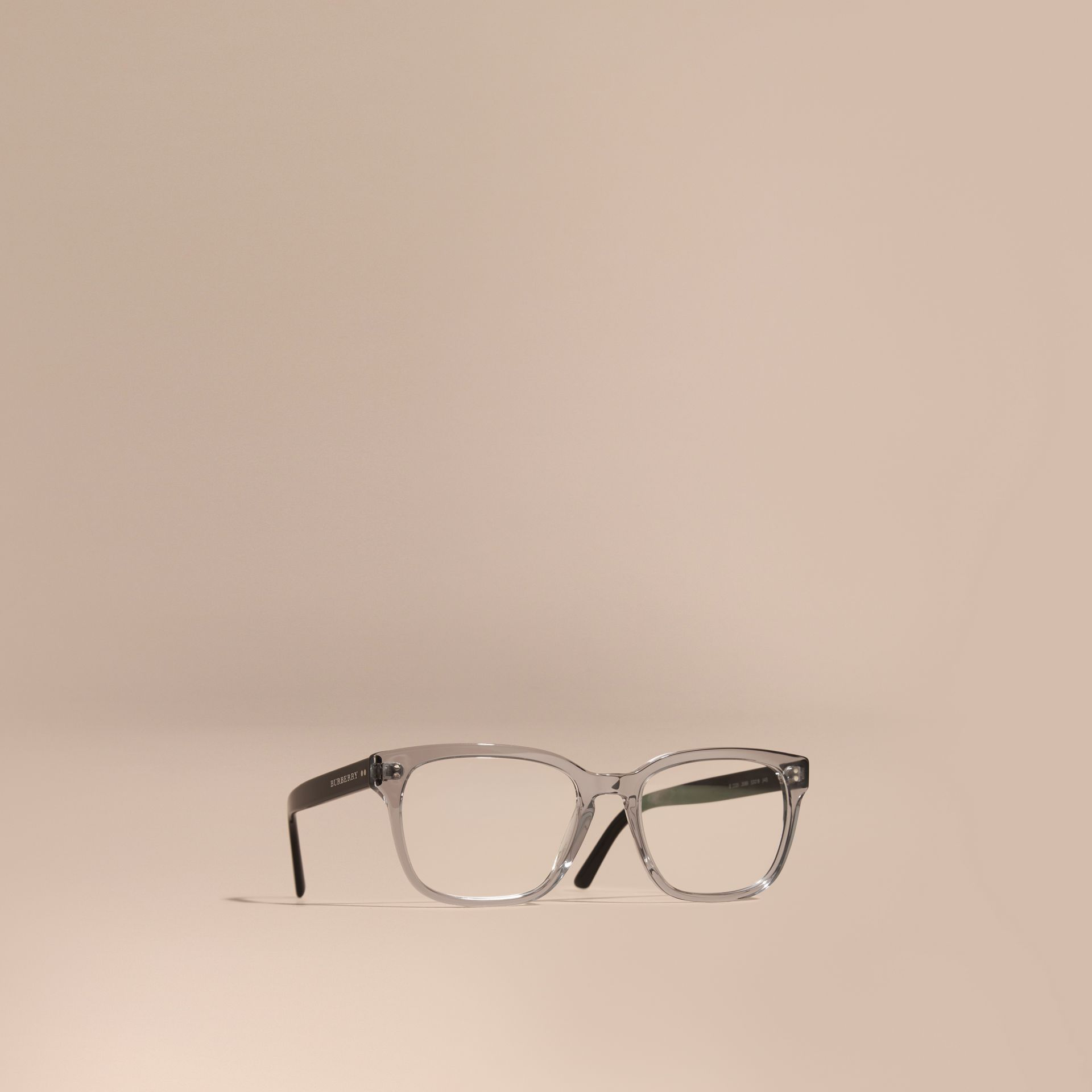 Square Optical Frames Grey - gallery image 1