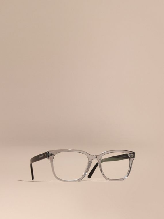Square Optical Frames Grey