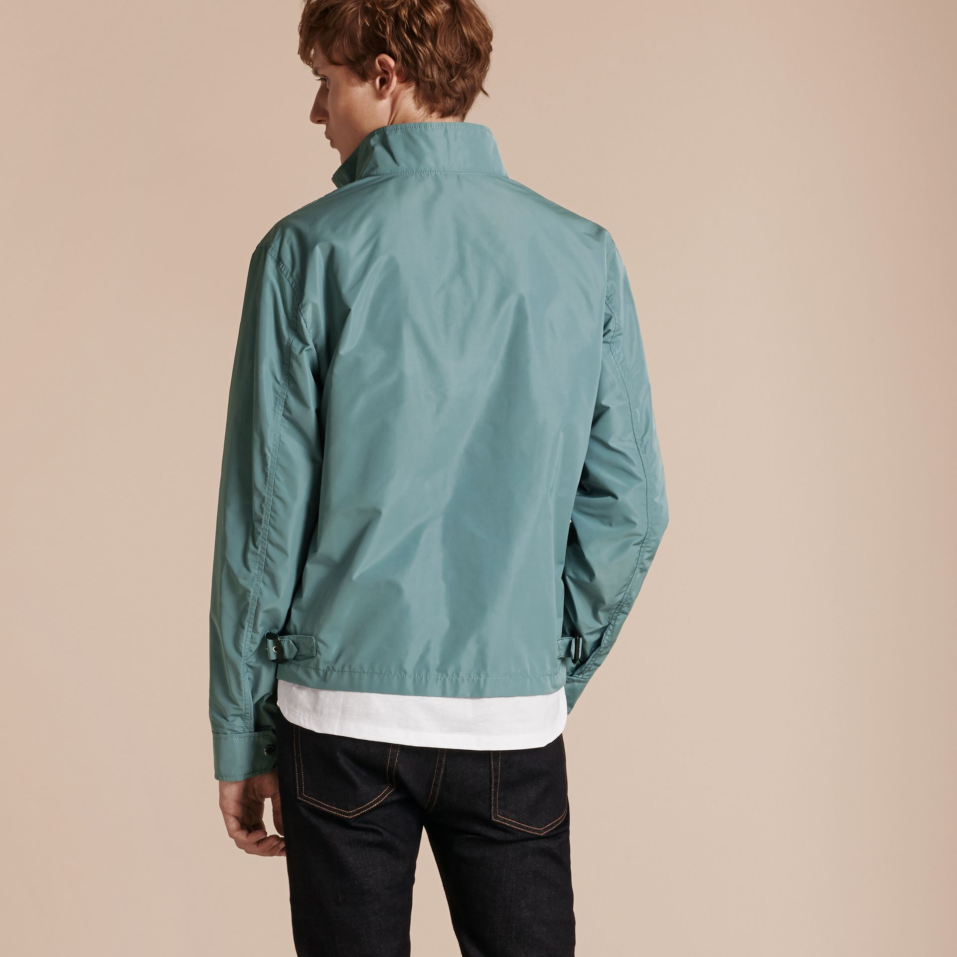 Lightweight Technical Jacket Powder Green - gallery image 3