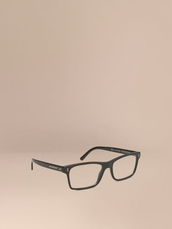 Rectangular Optical Frames Black