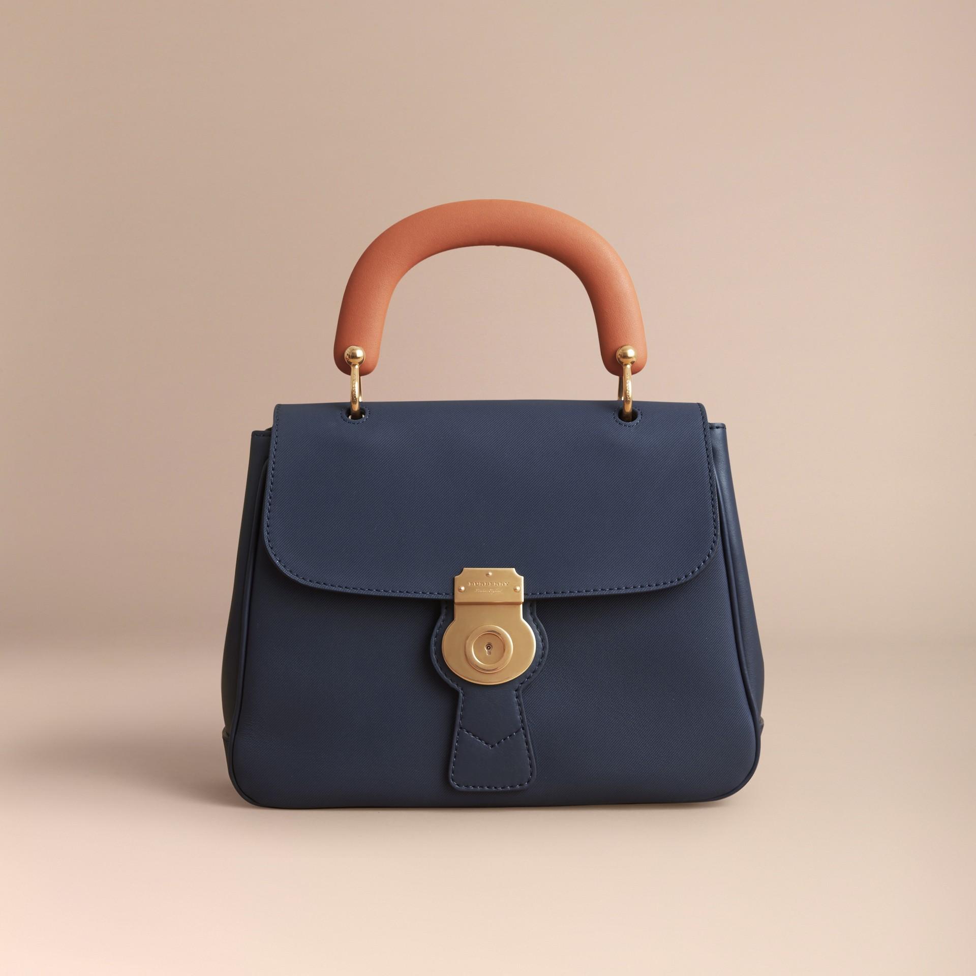 The Medium DK88 Top Handle Bag Ink Blue - gallery image 8