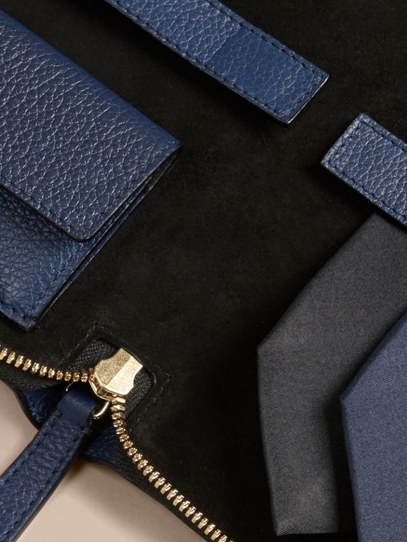 Bright navy Grainy Leather Tie Case Bright Navy - cell image 2