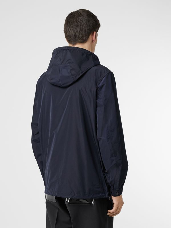 Detachable Hood Shape-memory Taffeta Jacket in Ink - Men | Burberry Singapore - cell image 2