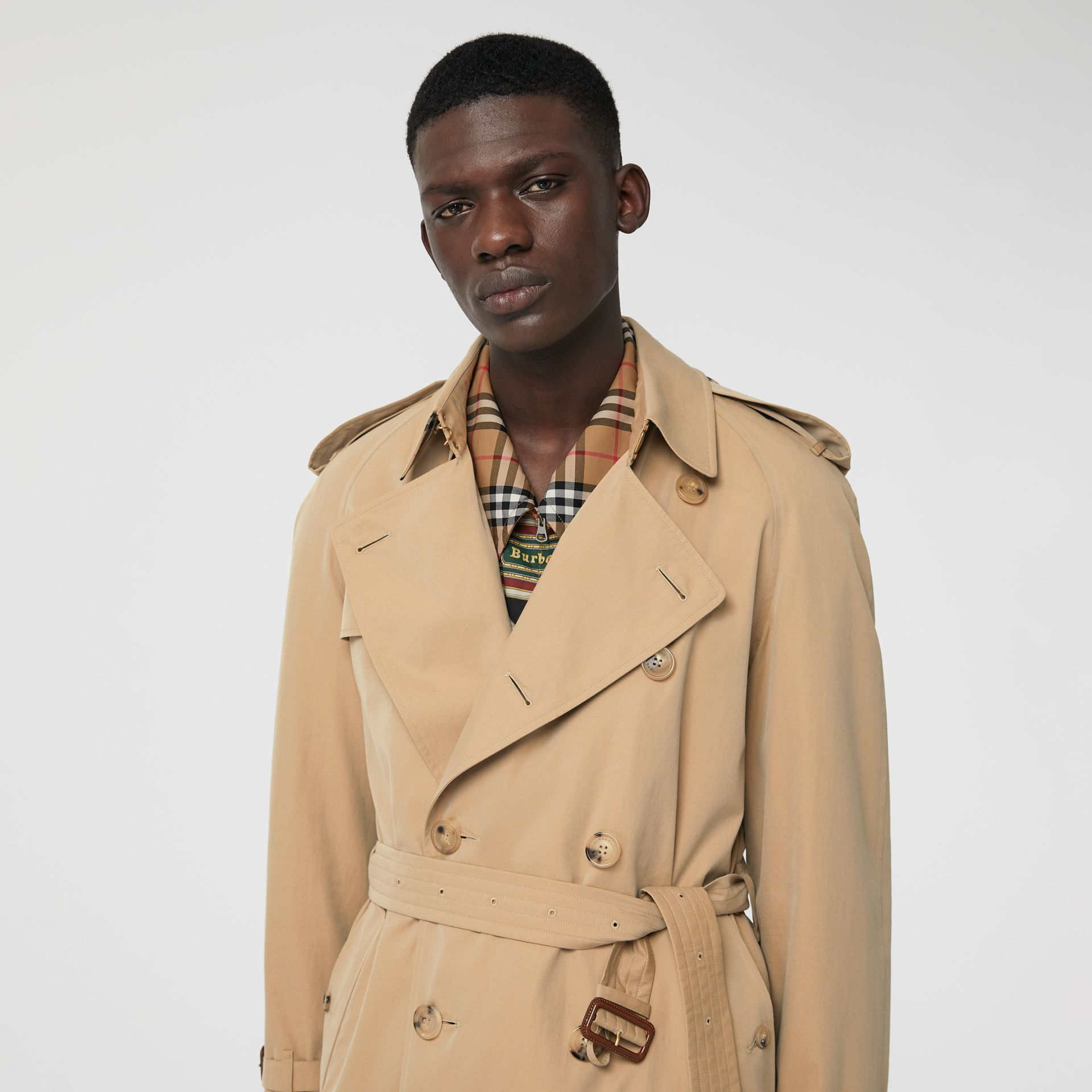 Trench coat Heritage The Westminster (Miele) - Uomo | Burberry - immagine della galleria 6